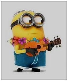 Luau musician minion