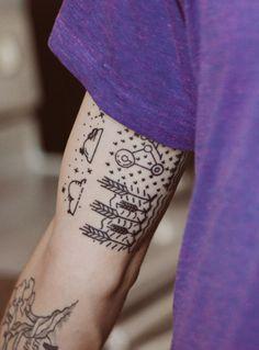 Minimal & Simple Tattoo for Dad