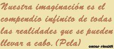 La imaginación....