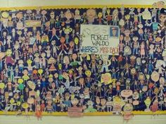 Where's the Teacher? | 31 Incredible Bulletin Boards For Back To School....I <3 this board. So cool.  Some are just fun!