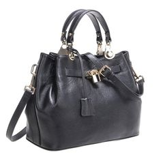 Fineplus Women's Fashion Genuine Leather Tote Bags Purses Wholesale Handbags Black