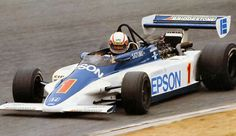 Satoru Nakajima - March 832 Honda/Wakou - Harada Racing Company - Japanese Formula 2 Championship 1983