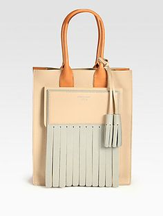 Acne Piers Colorblock Tote
