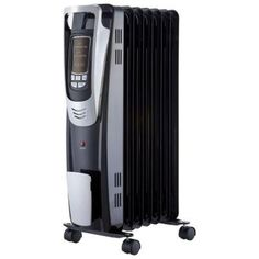 1500 Watt Digital Oil Filled Radiant Portable Heater With Remote Control     Awesome