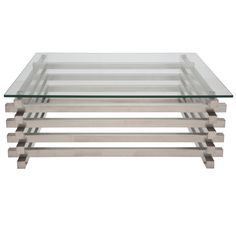 Sheaf Stainless Steel Coffee Table