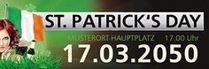 Werbebanner versandkostenfrei nach Hause bekommen NUR bei www.onlineprintxxl.com #eventwerbebanner #design #onlinewerbung #lucky #irish #day