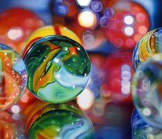 UK artist Sarah Graham - marble painting