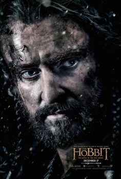 Richard Armitage's Thorin is on the latest character poster for The Hobbit: The Battle of the Five Armies.