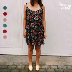 Um dia cheio de 🌼🌸🌻🌹 pra você! #dress #amei #verao #amei #flores
