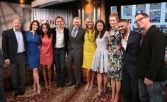 Cast of ABCs Scandal on Good Morning America and The View