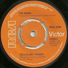The Kinks - Celluloid Heroes / Hot Potatoes #TapasDeDiscos