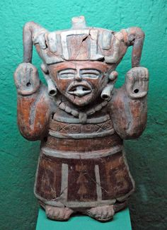 Ancient Man    This ceramic figurine is in the collection of the Tamayo Museum in Oaxaca Mexico