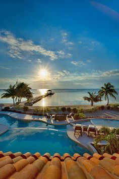 Ambergris Caye, Belize. Some day I will go here. #vacation #honeymoon #paradise #ocean #beautiful #scenery #sun