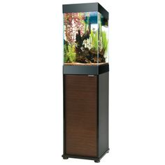 15 gallon aquarium aqueon 15 gallon column deluxe for Petsmart fish tank stand