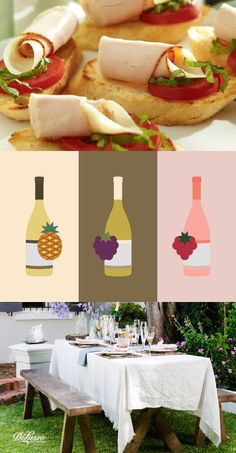 A few wine and appetizer pairing ideas that are perfect for Girls Night In. You'll find popular pours like Rosé and Riesling, and tasty finger food like Sun-Dried Tomato Turkey Bruschetta. Plus, learn how to add another layer of flavor to your wine using frozen fruit.