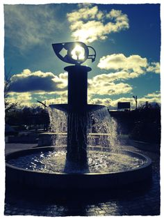 Havelock North Clock Tower Fountain Havelock North, New Zealand, Fountain, Tower, Clock, Outdoor Decor, Watch, Lathe, Water Fountains