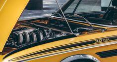 "BMW CSL 3.0 Gold Engine / Motor ""Batmobil""- Das goldene Coupé ein Exemplar von 1974. Der Hubraum des Sechszylinders beträgt knapp 3,2 Liter. Der Motor leistet 206 PS und 286 Nm bei 4.300/min. BMW CSL 3.0 Gold ""Batmobil""- Das goldene Coupé ein Exemplar von 1974. Der Hubraum des Sechszylinders beträgt knapp 3,2 Liter. Der Motor leistet 206 PS und 286 Nm bei 4.300/min. #BMW #CSL #3.0 #Gold #engine #Hommage #Oldtimer #Retro #Classic #Car #Automobil #classicdriver"