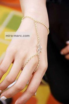 Infinity Bracelet Ring Harness from MiraMarc.Collection