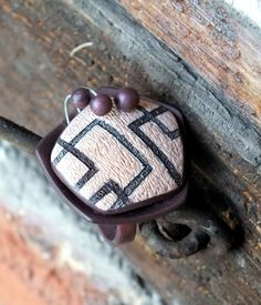 New e-book about rings coming soon! Fimo Ring, Polymer Clay Necklace, Polymer Clay Creations, Polymer Clay Art, Square Rings, Personalized Items, Pendant, Earrings, Crafts