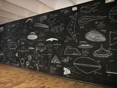 UFO Wall. Brian Rea
