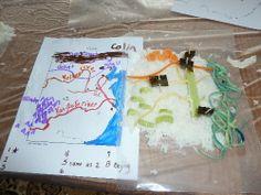 Edible Map of China
