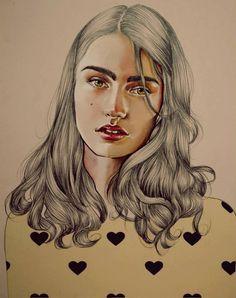 Drawings by Spanish Artist Elena Pancorbo