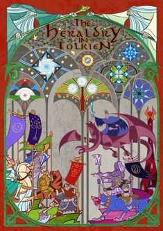 The Heraldry in Tolkien by Jian Guo and Aglargon by Aglargon.deviantart.com on @DeviantArt