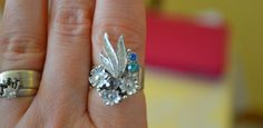 Make Broken Earrings into Rings