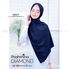 Jual Pashmina Diamond by Vazya Hijab - Babypink - Kota Cimahi - Gamis-Store