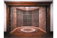 Developing a restaurant and looking for wine cellar examples? Caves, Luxury Homes Interior, Wine Storage, Restaurant Bar, Wine Rack, Photo Galleries, Wine Cellars, Architecture, Room