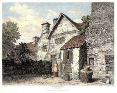 Parliament House of Owain Glyndwr in Dolgellau (Cwrt Plas yn Dre) (1815)