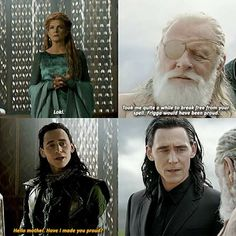 Royal family of Asgard need banishment to become a kind and wise person.