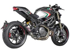 Ducati Monster 1100 EVO GP M2 Silencer by SC-Project