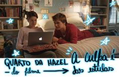 Decoração quarto da Hazel - A Culpa é das Estrelas — decor, bedroom, hazel grace, gus, augustus waters, ddpp, indie, hipster, discipulos de peter pan, boho, diy, the fault in our stars