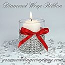 """Narrow Diamond Wrap (Simulated Rhinestone Ribbon)  Visit vendor site for large selection of DIY wedding favor tutorials & supplies.   """"Your Wedding Company"""" is an online resource for wedding favors,  DIY ideas, & more.  www.yourweddingcompany.com  425-881-8224     Please mention that you found them thru Jevel Wedding Planning's Pinterest Account.    Keywords: #winterweddingfavors #jevelweddingplanning Follow Us: www.jevelweddingplanning.com  www.facebook.com/jevelweddingplanning/"""