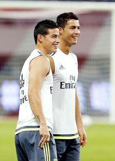 James Rodriguez — albertosmoreno: James Rodriguez and Cristiano...