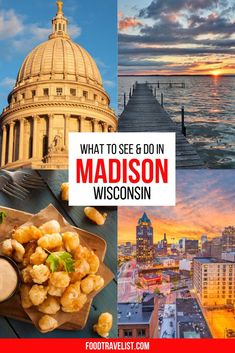 Come to the Midwest and experience one of the best and friendliest cities in the U.S.A. Wisconsin charm combined with a everyone is welcome here vibe will have you wondering why you haven't visited before. Located between two glistening lakes the town has it all. Diverse world class food choices, a gorgeous state capital building, the countries largest producers-only farmers market and plenty of outdoor activities any time of year. #VisitMadison #TravelWI