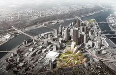 Gallery of BIG, West 8 + Atelier Ten Unveil Masterplan for Pittsburgh's Lower Hill District - 2