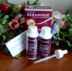 KERANIQUE Hair Regrowth Treatment for Women 2 months supply Sealed in Box #Keranique