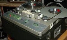 Telefunken early tape recorder, 1940's.