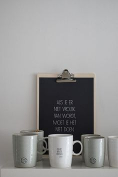 Letter Board, Pottery, Ceramics, Lettering, My Love, Words, Tableware, Kitchen, Quotes
