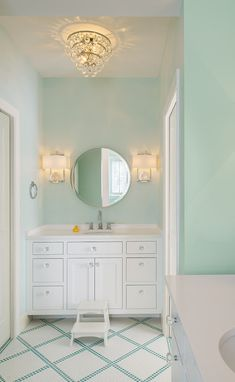 Peachy 30 Best Mint Green Bathrooms Images In 2018 Mint Green Download Free Architecture Designs Itiscsunscenecom