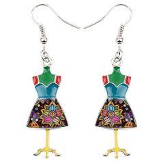 Enamel Metal Sewing Machine Tool Shaped Earrings Dangle Trendy Jewelry For Women Trendy Jewelry, Handmade Jewelry, Fashion Jewelry, Women Jewelry, Shape Patterns, Sewing Patterns, Sewing Tutorials, Sewing Projects, Dress Form Mannequin