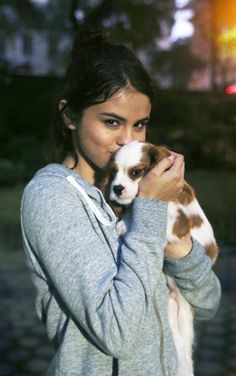 She is a beautiful person. And have great love for animals Love u Selena -Amore Junius