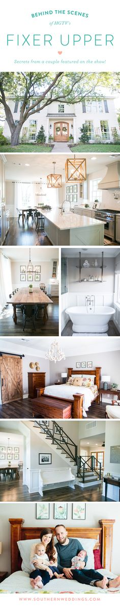 Fixer Upper secrets! Behind the scenes details and photos from a couple featured on the hit HGTV show