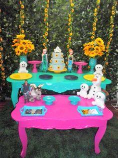 frozen fever locação kit decoração