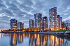 Yaletown Blue Hour - Vancouver
