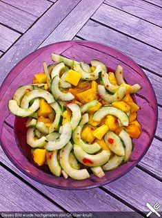 Gurken - Mango - Salat Salat - Karibik