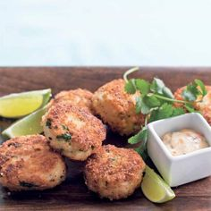 Light, zesty Asian-inspired fish cakes that are easy to make and perfect for a quick family dinner