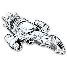 Firefly Serenity in Flight Bumper Sticker by Firefly,
